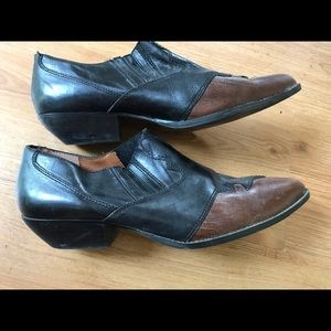 Cowboy booties - wing tip